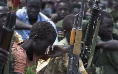 Sudani y'epfo yagirizwa ivyaha bikomeye vyo gutwara abana bakiri bato muntambara