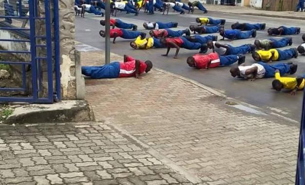 Aba Police boba bariko bagabisha abanyabujumbura?