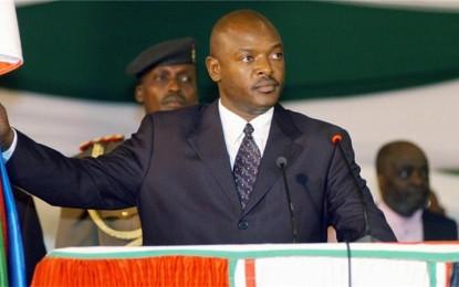 Ngiri hano ijambo ridasanzwe Petero Nkurunziza yashikirije ariko ararahira iyindi myaka 5 yo kurongora u Burundi
